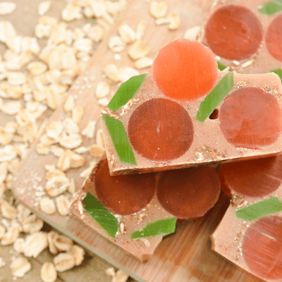 Apricot Oatmeal Glycerin Soaps