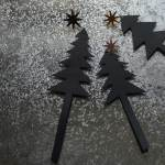 Set Of Metal Christmas Tree Decorations Natural Bed Company