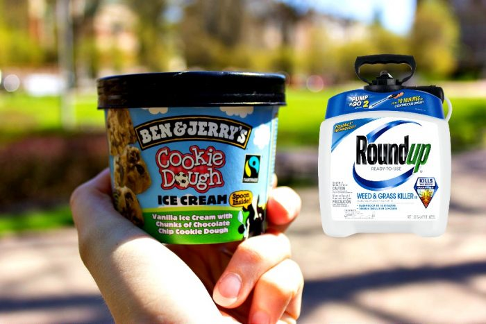 Ben & Jerry's Ice Cream Found With Active Ingredient from Roundup Weedkiller