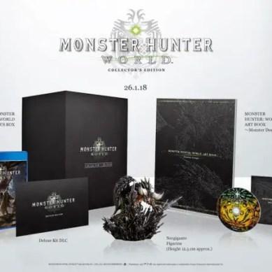 Monster Hunter World: ottime novità sulla Collector's Edition