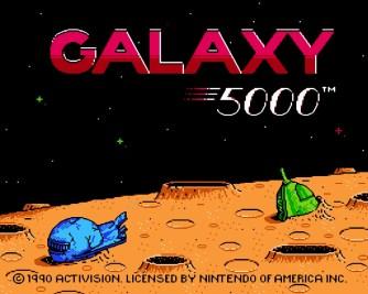 Galaxy 5000 gamemories