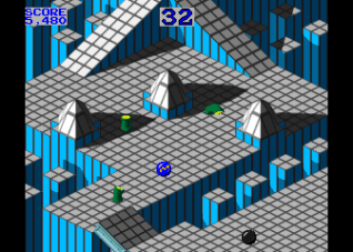Marble Madness arcade Gamemories