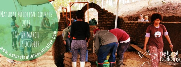 Natural building courses in South Africa 2018