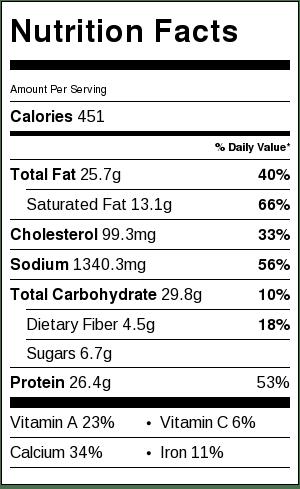 nutrition-info-creamy-chicken-enchiladas