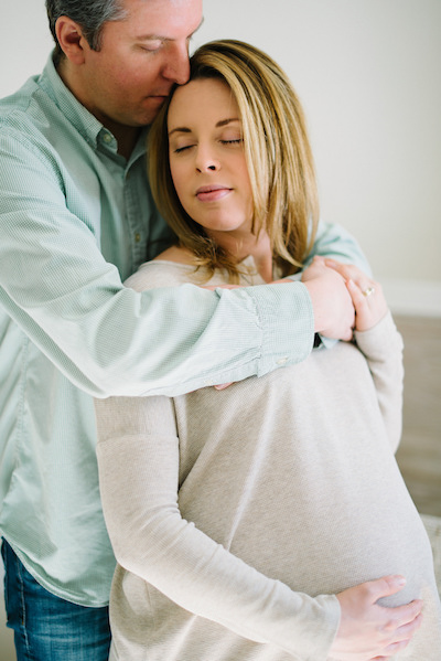 Couples Maternity Photo