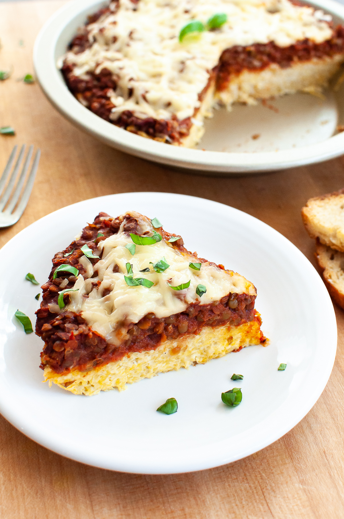 Spaghetti squash pie has gone vegan! It's streamlined to minimize ingredients, it's dairy and egg free, and it now makes TWO (freezer friendly) pies. Get the recipe at naturalcomfortkitchen.com