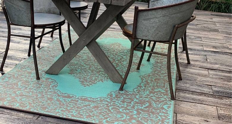 rustic patio pavers