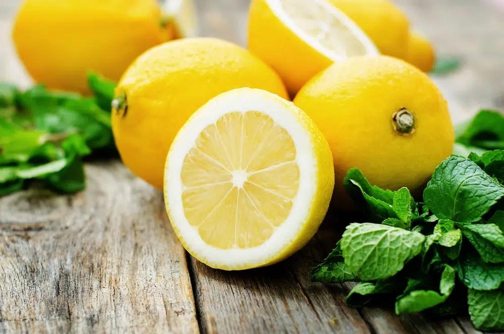 Benefícios para saúde de limões