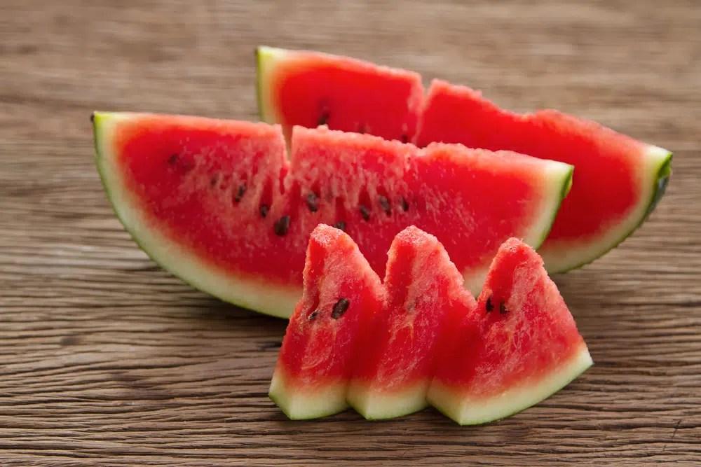 Benefícios para a saúde da melancia