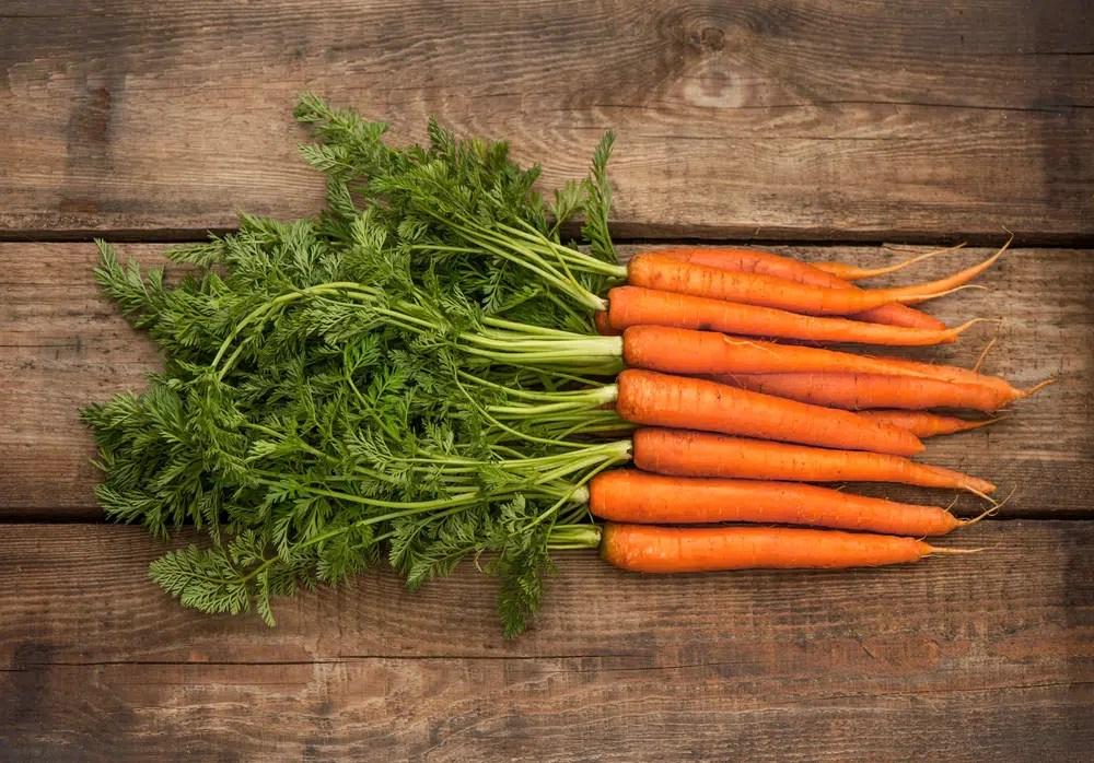 Benefícios impressionantes para a saúde das cenouras