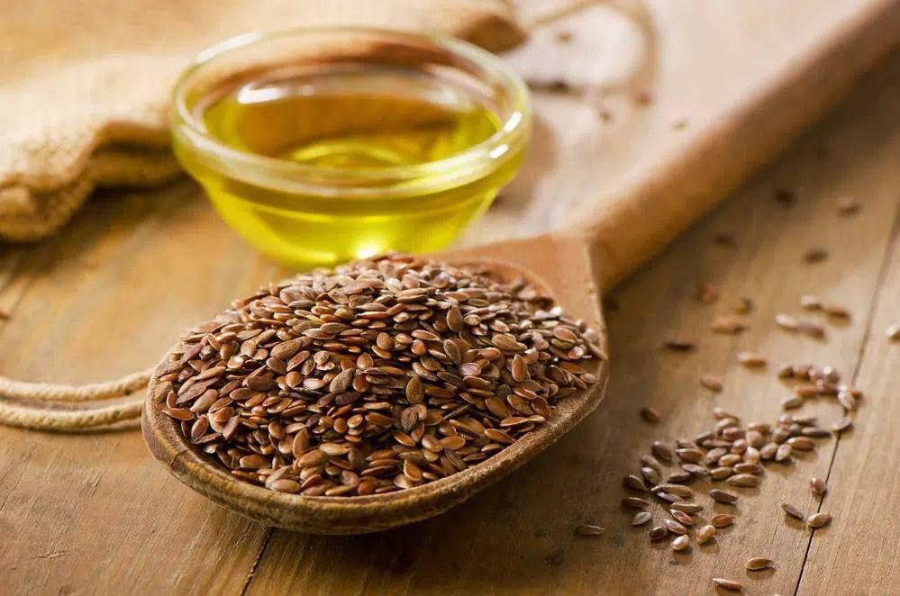 Benefícios para a saúde do óleo de linhaça