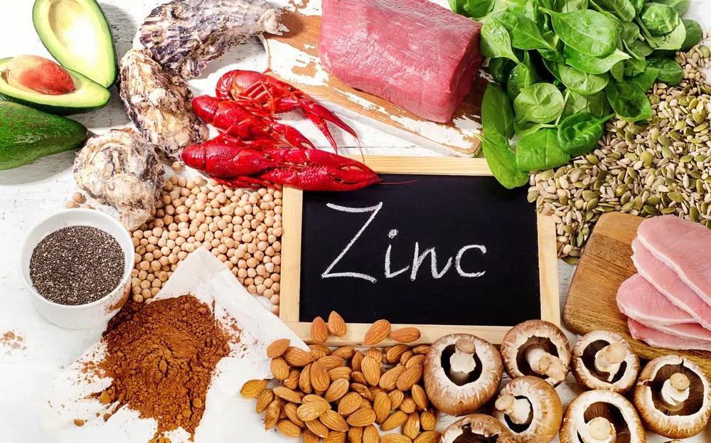 Fontes alimentares de zinco