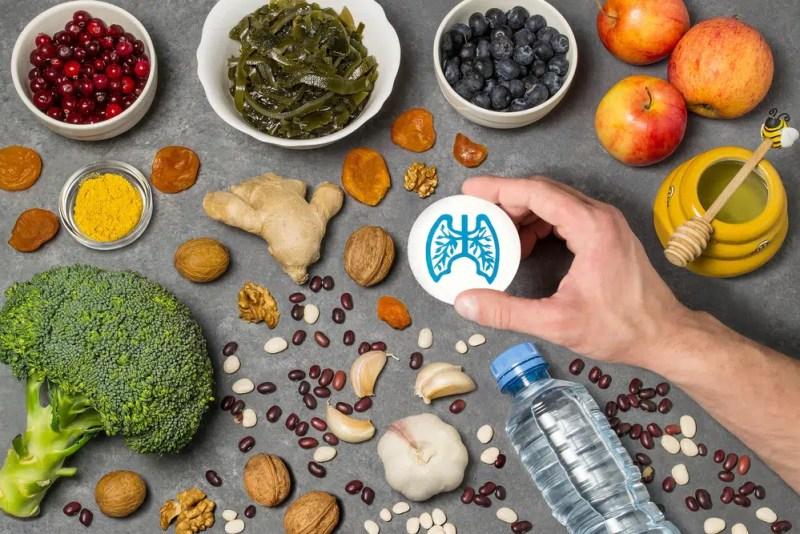 Thực phẩm cho sức khỏe phổi