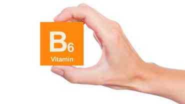 Vitamin B6 health benefits