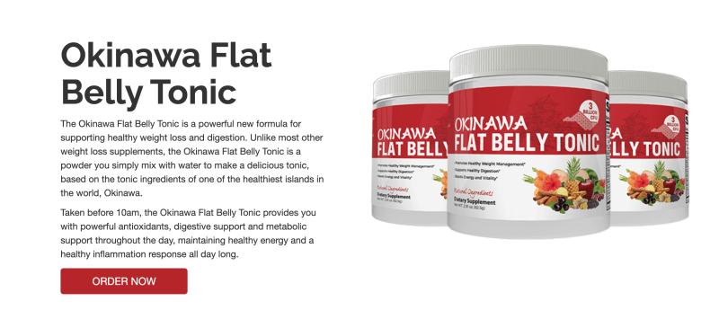 Okinawa Flat Belly Tonic Ingredients