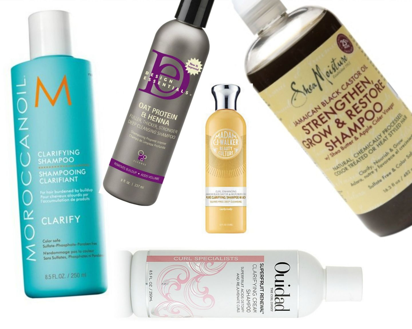 End of fall hair care routine requires a clarifying shampoo
