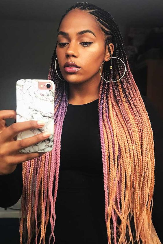 Who's ready for the hot hair color trends for 2019? heck out these ultra haute looks just perfect for any natural hairstyle this season.