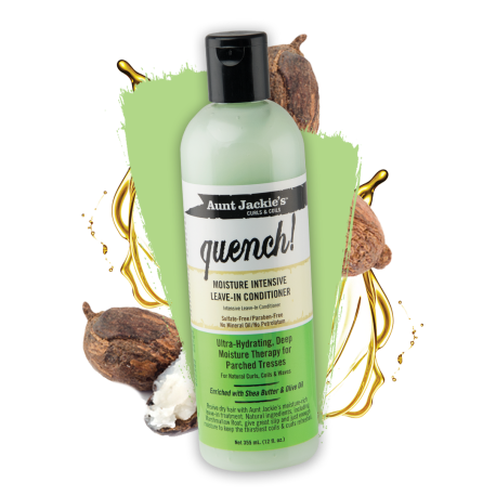Click here to buy Aunt Jackie's Quench, Moisture Intensive Leave-in Conditioner
