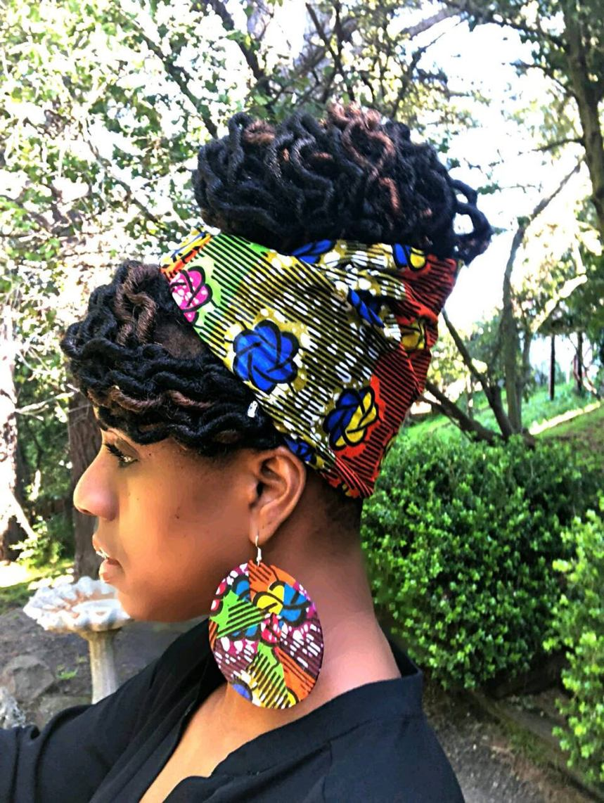 Head Wraps are hot this spring and summer and no better way to protect your natural hair while out in the scorching sun. Rock black owned
