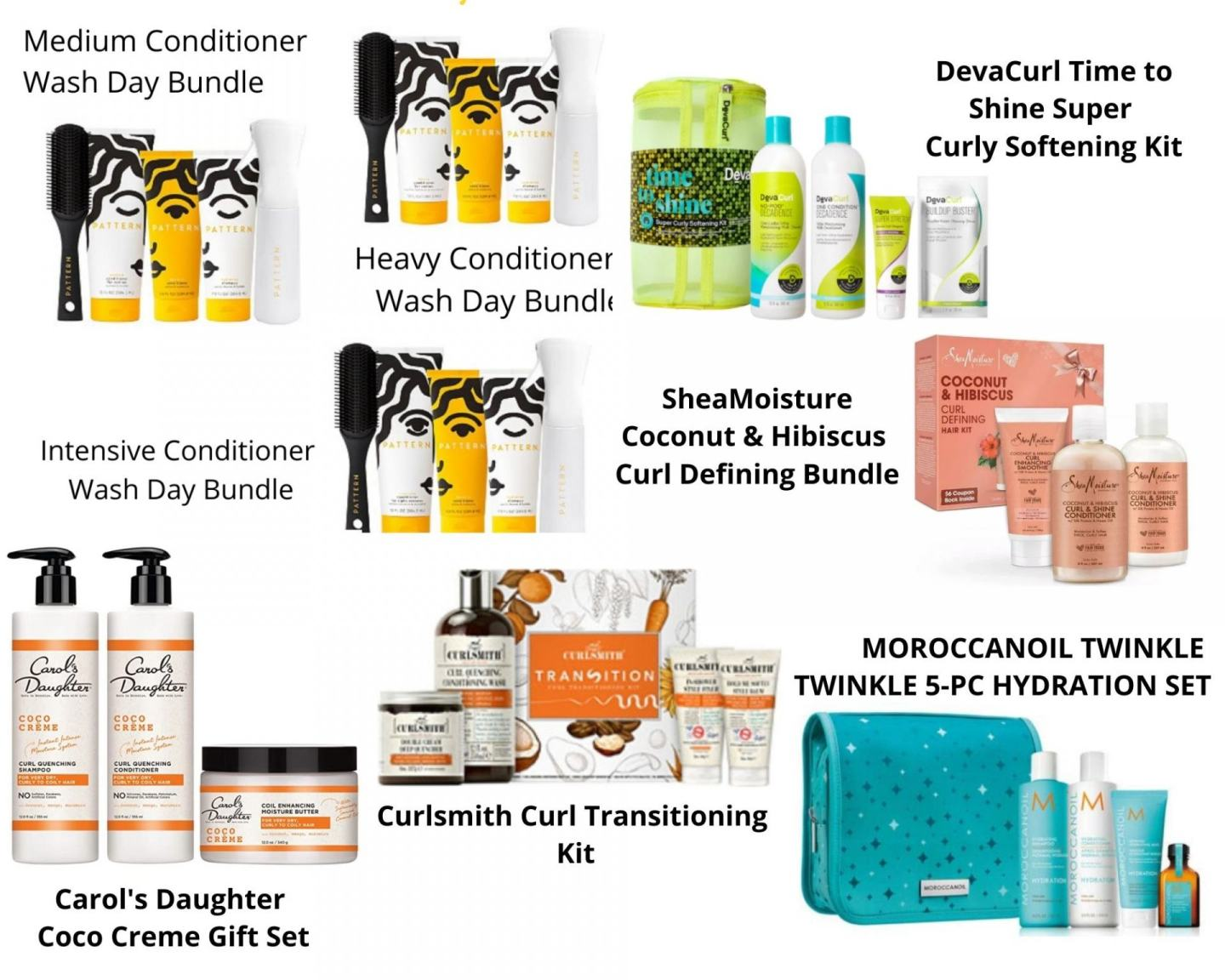 Holiday gift guide 2020 is here! Check out all the best items to get for all the naturals on your holiday Don't forget to get something too!