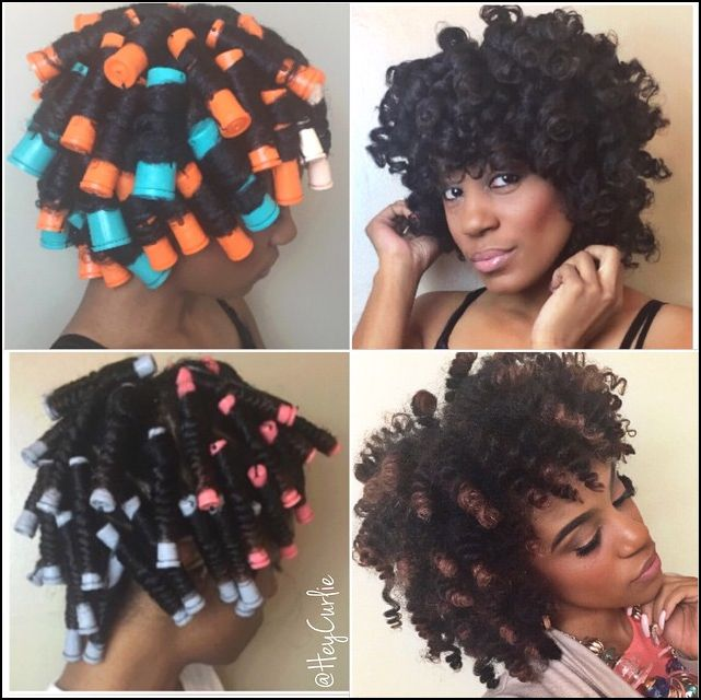 Just Fab Perm Rods Curl Results