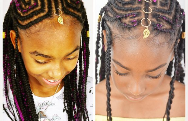 Childrens Tribal Braids And Beads Tutorial