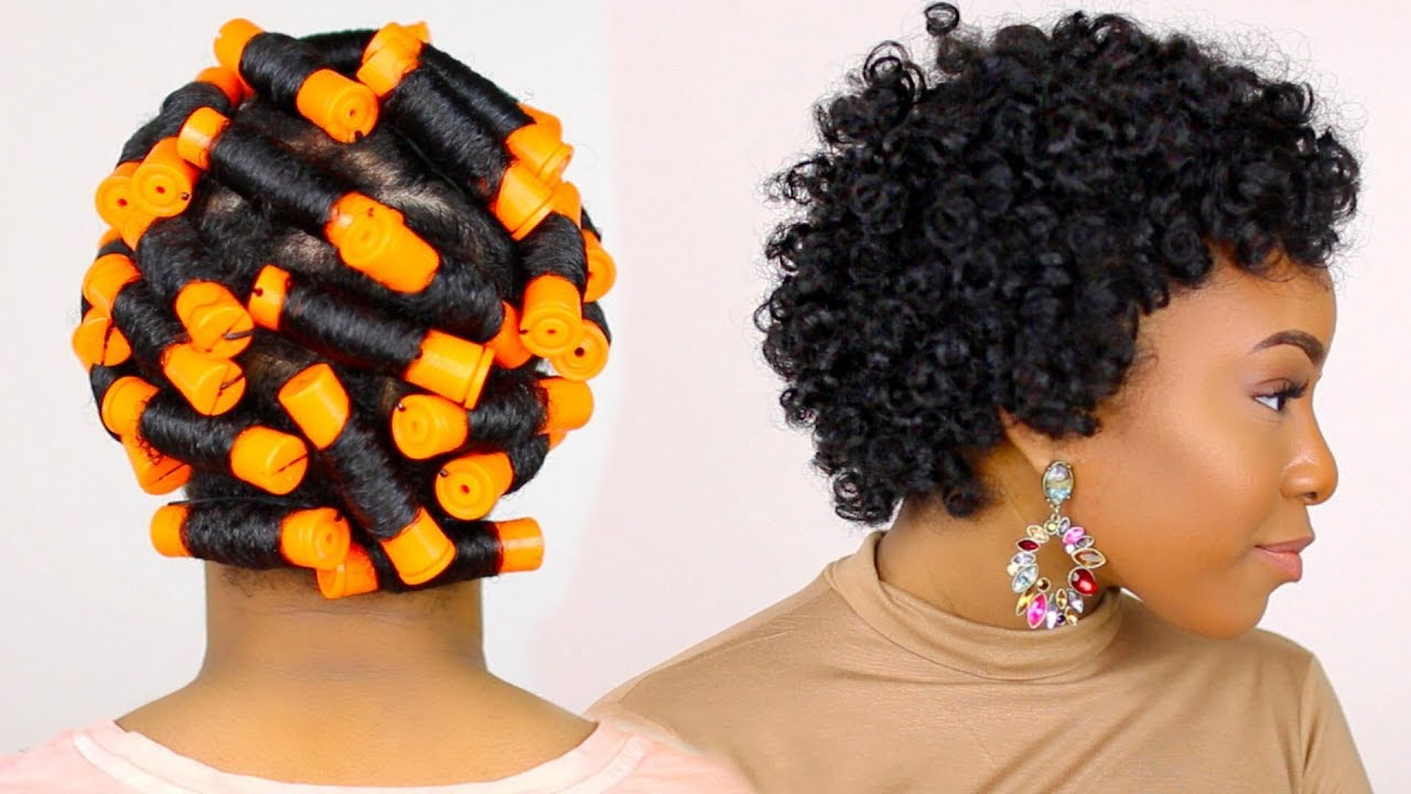 The Perfect Perm Rod Set For Short Natural Hair