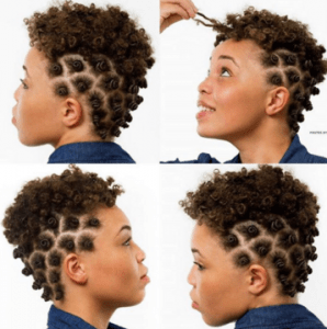 Mousse On Short Natural Hair