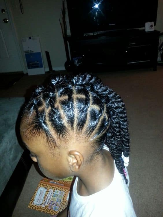 Back to school hairstyles black hair, natural hair, hairstyles for kids, school kids, braids