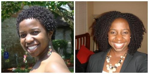 Big Chop and 3 Years Natural
