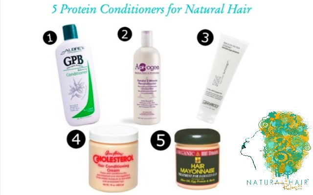 High protein shampoo and conditioner