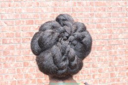 Nicole's Natural Hair Top Knot