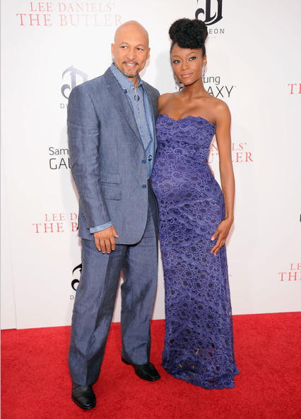The Butler NYC Premiere Yaya DaCosta Alafia & Hubby
