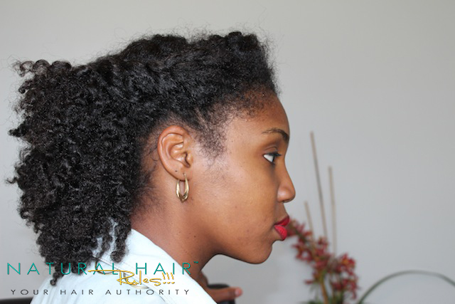 Twisted Front | 4 Rainy Day Natural Hairstyles