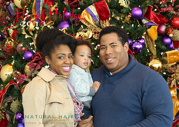 Happy Holidays from Natural Hair Rules!!!