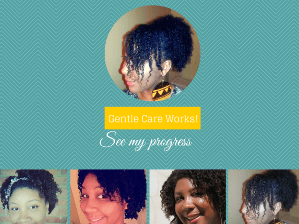 Be Gentle With Your Hair it Works!