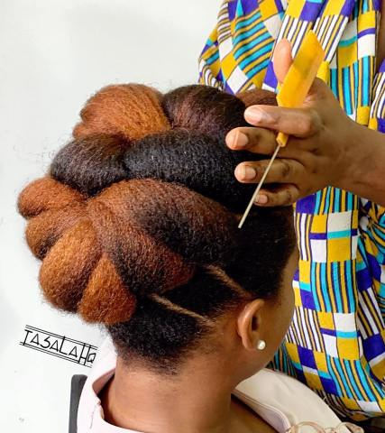Styling 4C Natural Hair