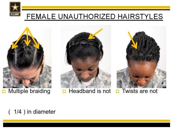 Army Bans Natural Hairstyles-2
