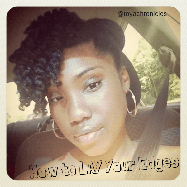 3 Steps To Laying Your Edges Without Damaging