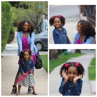 Adanna and daughter who likes to be called The Fairy Princess, 3 y.o.