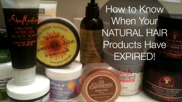 4 Ways You Know Its Time to Throw Your Natural Hair Products Out