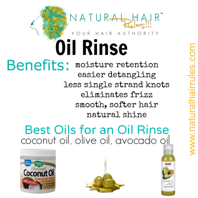 Oil Rinse Natural Hair