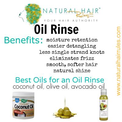 Oil Rinse Natural Hair