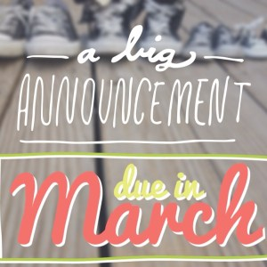 Baby No. 2 Announcement