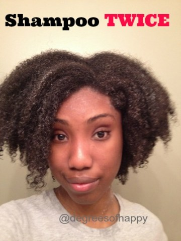 Shampoo Twice: 3 Reasons Why Shampooing Natural Hair Once Isn't Enough