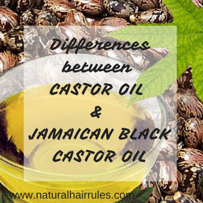 Differences between castor oil and jamaican black castor oil