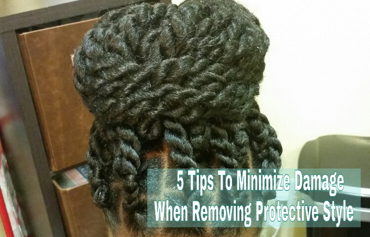 5 Ways to Lose Less Hair after a Protective Style