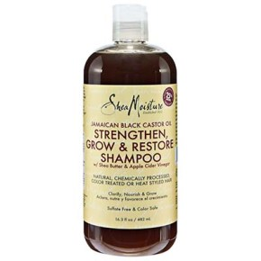 SheaMoisture Jamaican Black Castor Oil Strengthen, Grow and Restore Shampoo