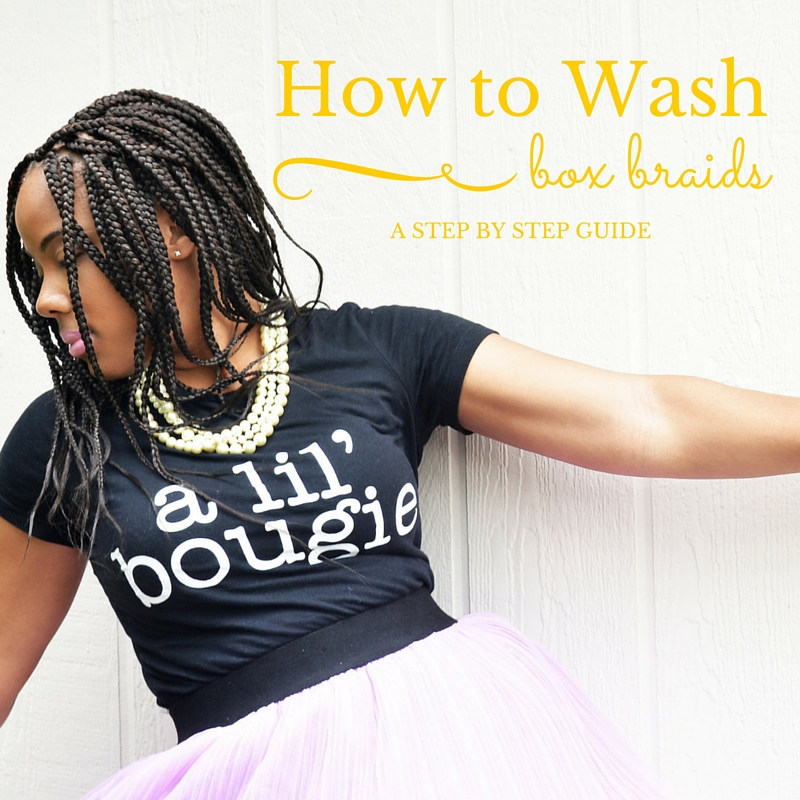 How to Wash Box Braids Guide