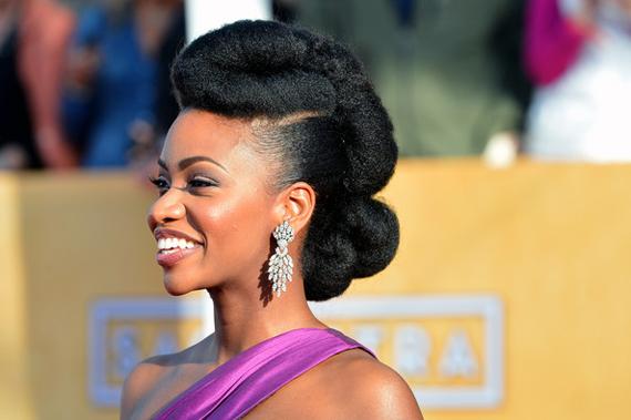 13 Natural Hair Styles by Teyonah Parris